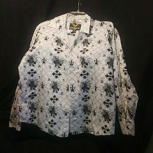 A man's button up shirt